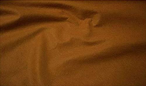 Fabrics-City MILCHKAFFE FILZ STOFF 2MM-180CM BEKLEIDUNG DEKO BASTELN STOFFE, 2499