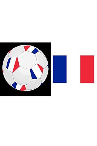 Fiesta Palace - Ballon De Foot France Pvc 25Cm