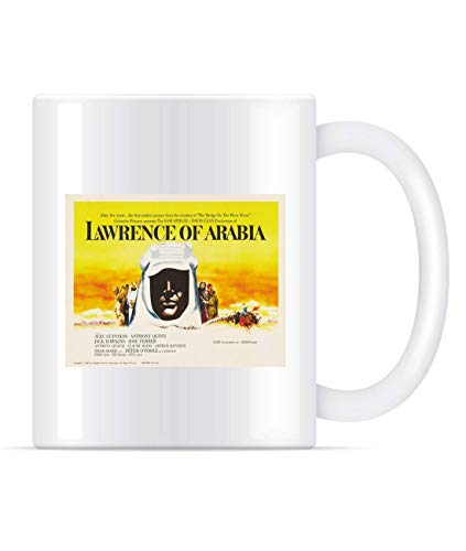 Taza Mug TazasTaza clásica Lawrence of Arabia Lobby Card 330Ml