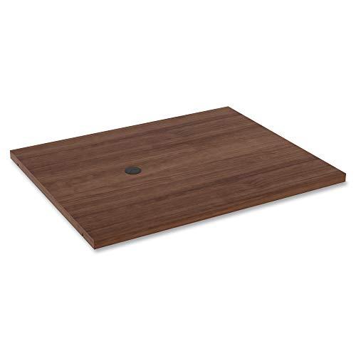 Lorell Modular Tischständer, Walnut,Laminated
