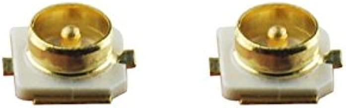 DHT Electronics 2PCS IPEX U.FL SMD SMT Solder For PCB Mount Socket Jack Female RF Coaxial Connector