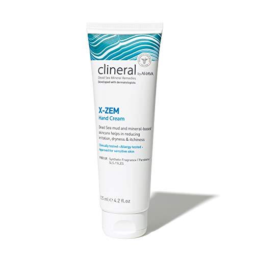 AHAVA CLINERAL X-ZEM Hand Cream, 125 ml