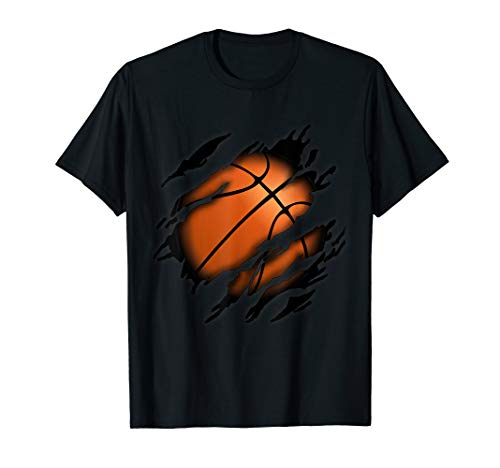 Basketball in mir Design, Basketballdesign T-Shirt