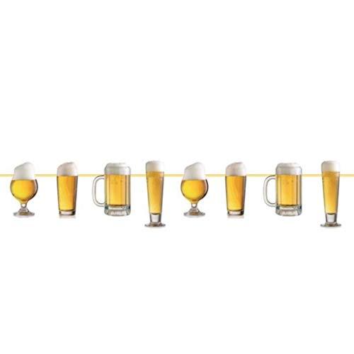 Guirnalda de cerveza con decoración – 10 metros