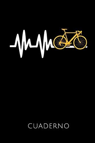 CUADERNO: Idea de regalo para ciclistas y aficionados a la bicicleta de carreras | Cuaderno con 110 páginas rayadas | Formato 6x9 DIN A5 | Tapa blanda ... autor para ver más diseños sobre este tema