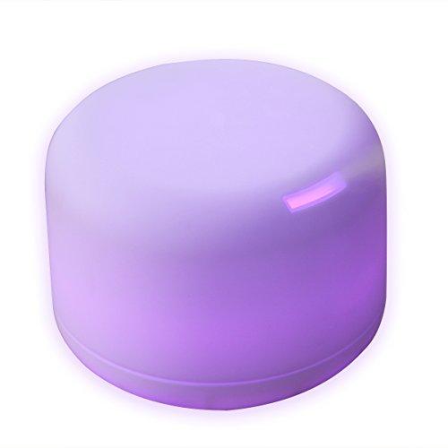 Diffusor Aromatherapie - Aroma Diffuser 500ml Luftbefeuchter Ultraschall Vernebler, Ultra Leise Diffuser BPA-Free Öle Diffusor mit 7 Farben LED Humidifier Duftlampe für Kinderzimmer Wohn- Büro