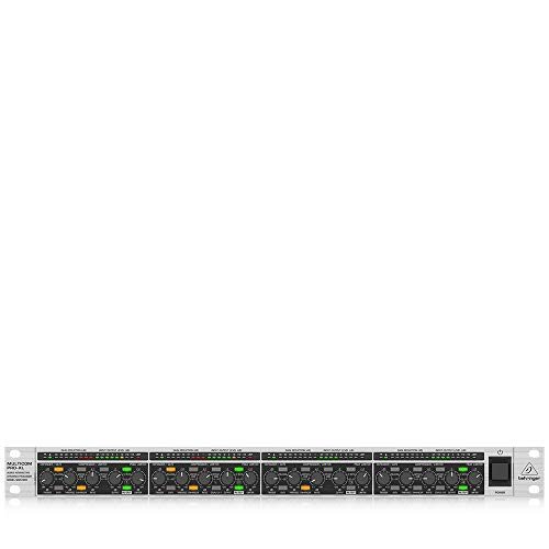 Behringer MDX4600 Multicom Pro-XL Interaktiver 4-Kanal Expander/Gate/Kompressor