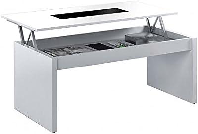 Habitdesign 0F1640A - Mesa de centro elevable acabada en ...