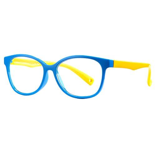 Pro Acme Kinderbrille mit blauem Licht für Jungen und Mädchen, unzerbrechlicher Rahmen, Computer-Lese-Brille