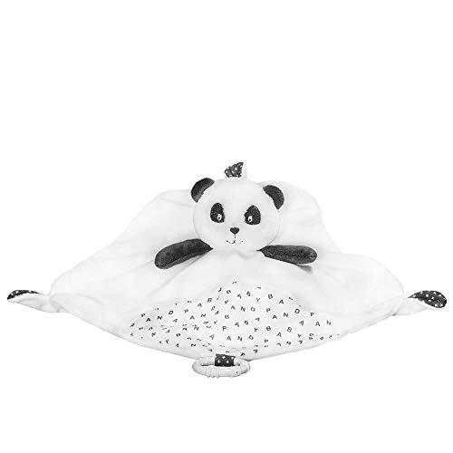 Doudou mouchoir plat Panda Chao Chao - Sauthon Baby Deco