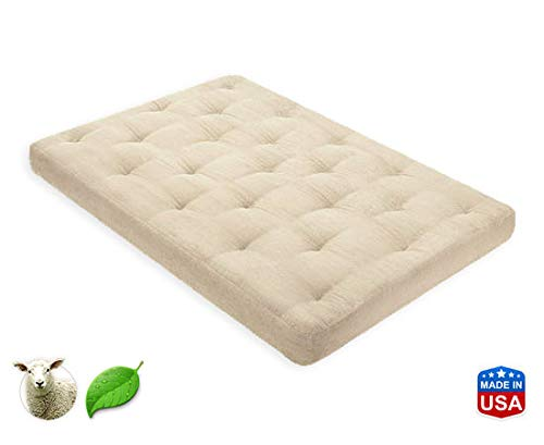 Discover Bargain 3 Inch Pure Wool Mattress Cot by Comfort Pure