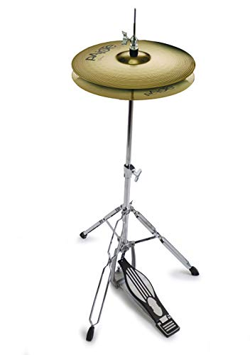 "Paiste 14"" 101 Cymbals P101HAT14 And Mapex Tornado Hi-hat Stand"