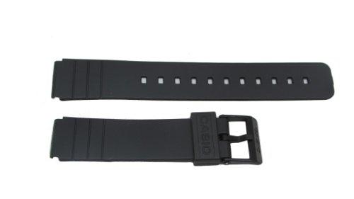 Casio cinturino in gomma da 16 mm, adatto per tutti i modelli MQ-24 e MQ-104-1
