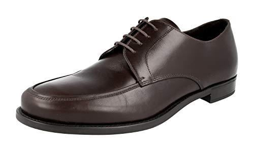 Prada Herren Braun Leder Business Schuhe 2EC049 41.5 EU/UK 7.5