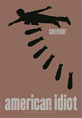 green day american idiot II POSTERFLAGGE