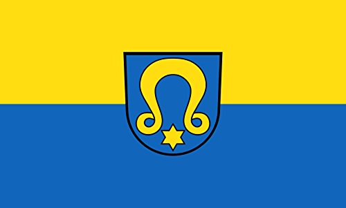 Unbekannt magFlags Tisch-Fahne/Tisch-Flagge: Wimsheim 15x25cm inkl. Tisch-Ständer