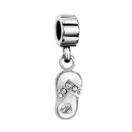 LILANG Pandora 925 Bijoux Bracelet Tongs Naturelles...