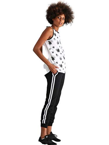 Everlast Camiseta sin mangas para mujer. 1000 White XL