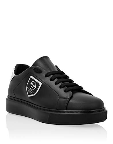 Philipp Plein Femenino Lo-Top Sneakers Negro 38