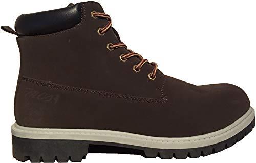 MCS Marlboro Classic Boots Stiefel Winterstiefel Haerzong MX172.M.897 Dunkelbraun, Schuhgröße:40 EU