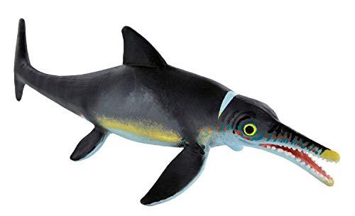 Bullyland 61422 - Spielfigur, Dinosaurier Ichthyosaurus, Museum Line, ca. 7,3 x 20,5 cm, ideal als Torten-Figur, detailgetreu, PVC-frei, tolles Geschenk für Kinder zum fantasievollen Spielen