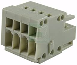 WAGO 733-104 4 Position 2.5 mm Pitch 28-20 AWG Cage Clamp Female Connector Terminal Block - 5 item(s)