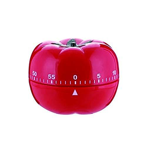 Jayron JR-WG017 - Temporizador de cocina para cocina, diseño de tomate