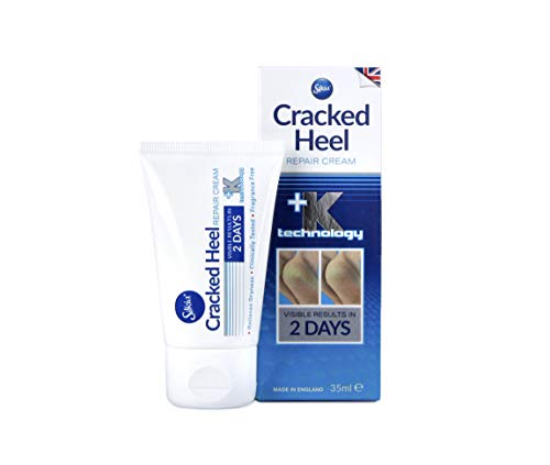 Silkia PEDICARE Cracked Heel Repair Cream   48hr Active Skin Repair   Clinically Tested   35 ml