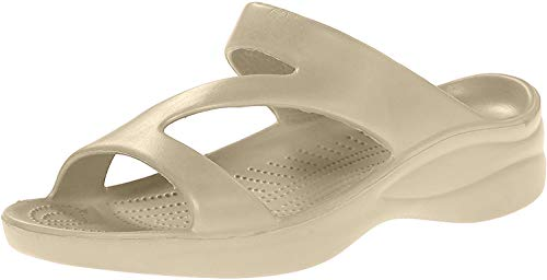DAWGS Ladies Z Sandal,Tan,8 M US
