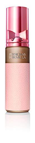 PHYSICIANS FORMULA Nude Wear Touch of Glow Foundation - Fondotinta Fluido Leggero Illuminante - Effetto Naturale, Nasconde le Imperfezioni, Rende la Pelle Morbida e Brillante - Colore Beige Medio