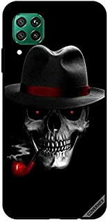 Protective Case Cover For Huawei P40 Lite Hat On Skull
