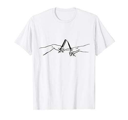 Friseur / Friseurin - mit Kamm und Schere - Geschenkidee T-Shirt