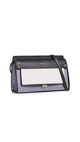 Furla - 998435, Shoppers y bolsos de hombro Mujer, Gris (Argento), 10x18x25 cm (B x H T)