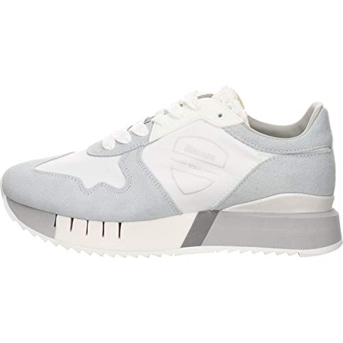 Blauer Damen Sneaker Myrtle 02 Weiss Gr. 37