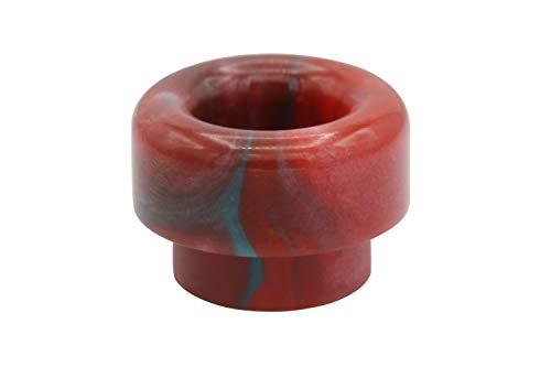 EzVapor 810 Drip Tip Rot Grün Wide-Bore DTL Mundstück E Zigarette Driptip aus Harz ohne Dichtung O-Ring 810er Drip Tip für Verdampfer Atomizer