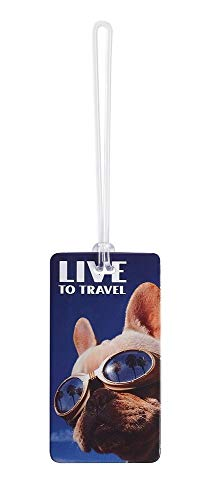 Lewis N. Clark Fashion Luggage Tag (Live to Travel)