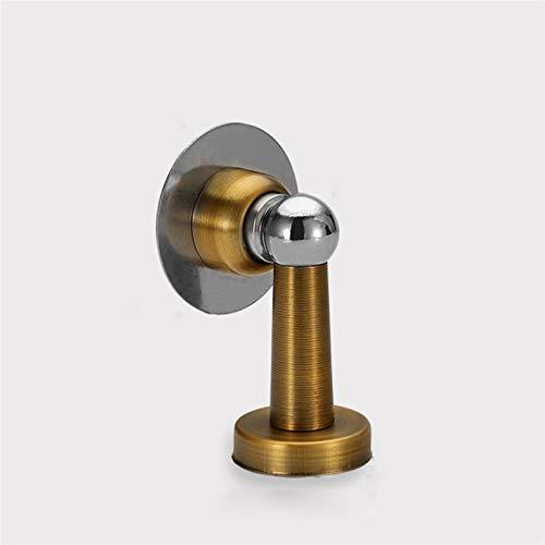 Tope de puerta flexible y resistente Puerta magnética magnética de acero inoxidable No punzón Tapón a prueba de viento Tapón montado en la pared Puerta montada en la puerta Hardware de la puerta Cuña