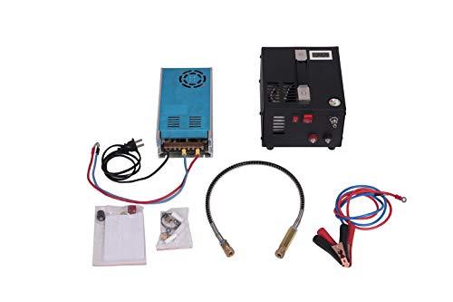 12v pcp air compressor with 110v power supply,paintball scuba tank HPA compressor
