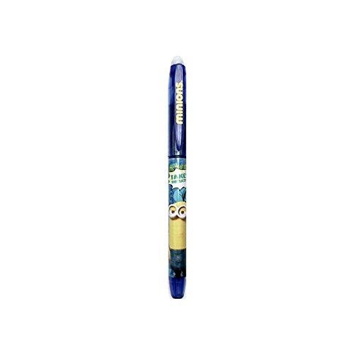 Minions–Bolígrafo Gel borrable tinta azul