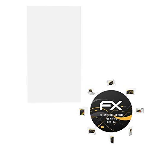 atFoliX Pellicola Protettiva per Kivors RK3126 Protezione Pellicola dello Schermo, antiriflesso e Ammortizzante FX Pellicola Proteggi (2X)