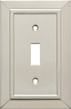 Franklin Brass W35217-SN-C Classic Architecture Single Toggle Switch Wall Plate/Switch Plate/Cover Satin Nickel