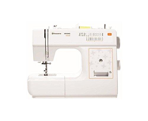 Máquina de coser vikinga E10, color blanco