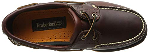 Timberland Classic 2 Eye, Chaussures Bateau Homme, Marron Rootbeer Smooth, 43.5 EU