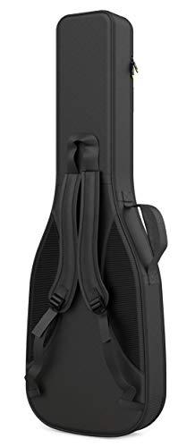 Monkey Loop - Touring Acoustic - Funda para Guitarra Eléctrica - Dimensiones 39 x 106 x 12 cm - Color Negro - Acolchada - Alta Calidad - Protección Superior - Asa Reforzada - Resistente al Agua