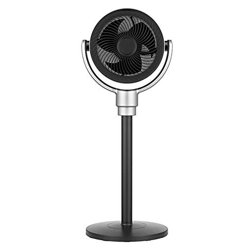 ZXQC Ventilador De Pedestal De Pie con Control Remoto OSCILACIÓN 3D | 6 Speed Turbo |Altura Ajustable |21db Silencioso para Dormitorio, 7htimer
