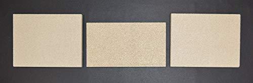 Feuerraumauskleidung für Jydepejsen Queen Kaminöfen - Vermiculite - 3-teilig