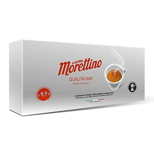 8 PACKS OF MORETTINO GROUND COFFEE KAFFEE BAR QUALITY 8 X 250 GR - ITALIAN COFFEE