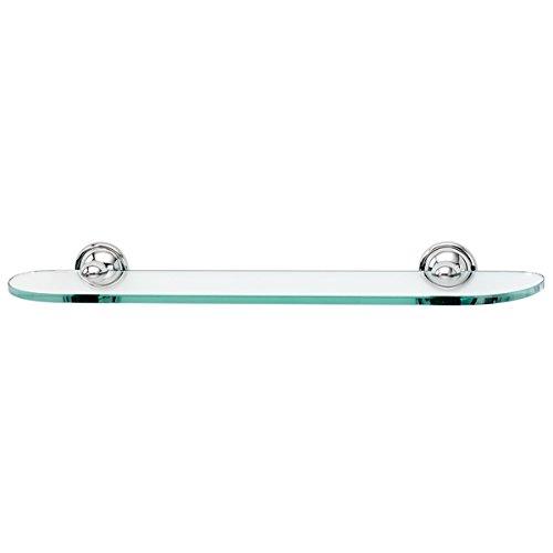 Why Choose Alno A9250-24-PC Yale Glass Shelf with Traditional Brackets, Polished Chrome, 24