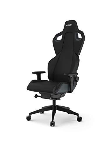 RECARO Exo Gaming Chair   Ergonomischer, atmungsaktiver Gaming-Stuhl mit Feinjustierung - Designed & Made in Germany - Pure Black