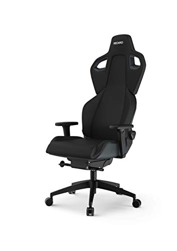 RECARO Exo Gaming Chair | Ergonomischer, atmungsaktiver Gaming-Stuhl mit Feinjustierung - Designed & Made in Germany - Pure Black